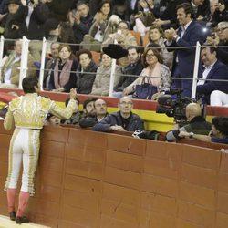 Cayetano Rivera en el festejo taurino en Illescas en Toledo