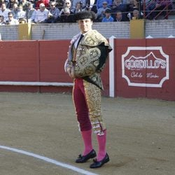 Francisco Rivera en una corrida de toros en Morón de la Frontera