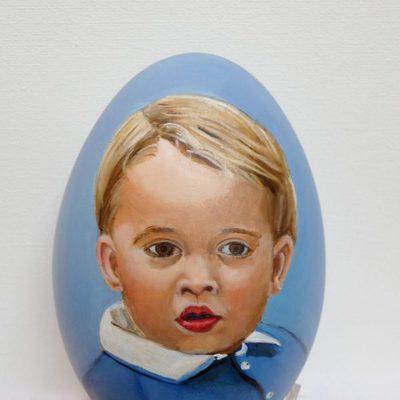 Huevo de Pascua del Príncipe Jorge de Camrbridge