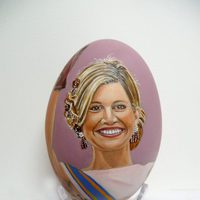 Huevo de Pascua de la Reina Máxima de Holanda