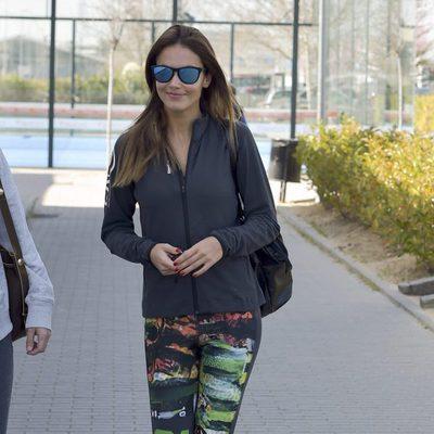 Primera imagen de Lara Álvarez tras su ruptura con Fernando Alonso