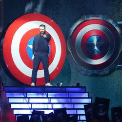 Chris Evans en los Nickelodeon Kids' Choice Awards 2016