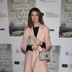 Ana García-Siñeriz en la presentación del libro 'Reza por Miguel Ángel'
