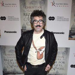 Agustín Jiménez en la presentación del libro 'Reza por Miguel Ángel'