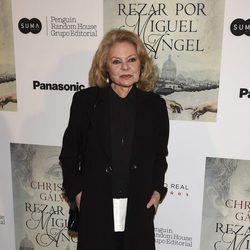 Mayra Gómez Kemp en la presentación del libro 'Reza por Miguel Ángel'