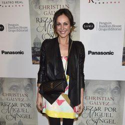 Ana Milán en la presentación del libro 'Reza por Miguel Ángel'