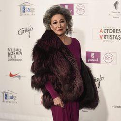 Luisa Gavasa en los Premios Unión de Actores 2016
