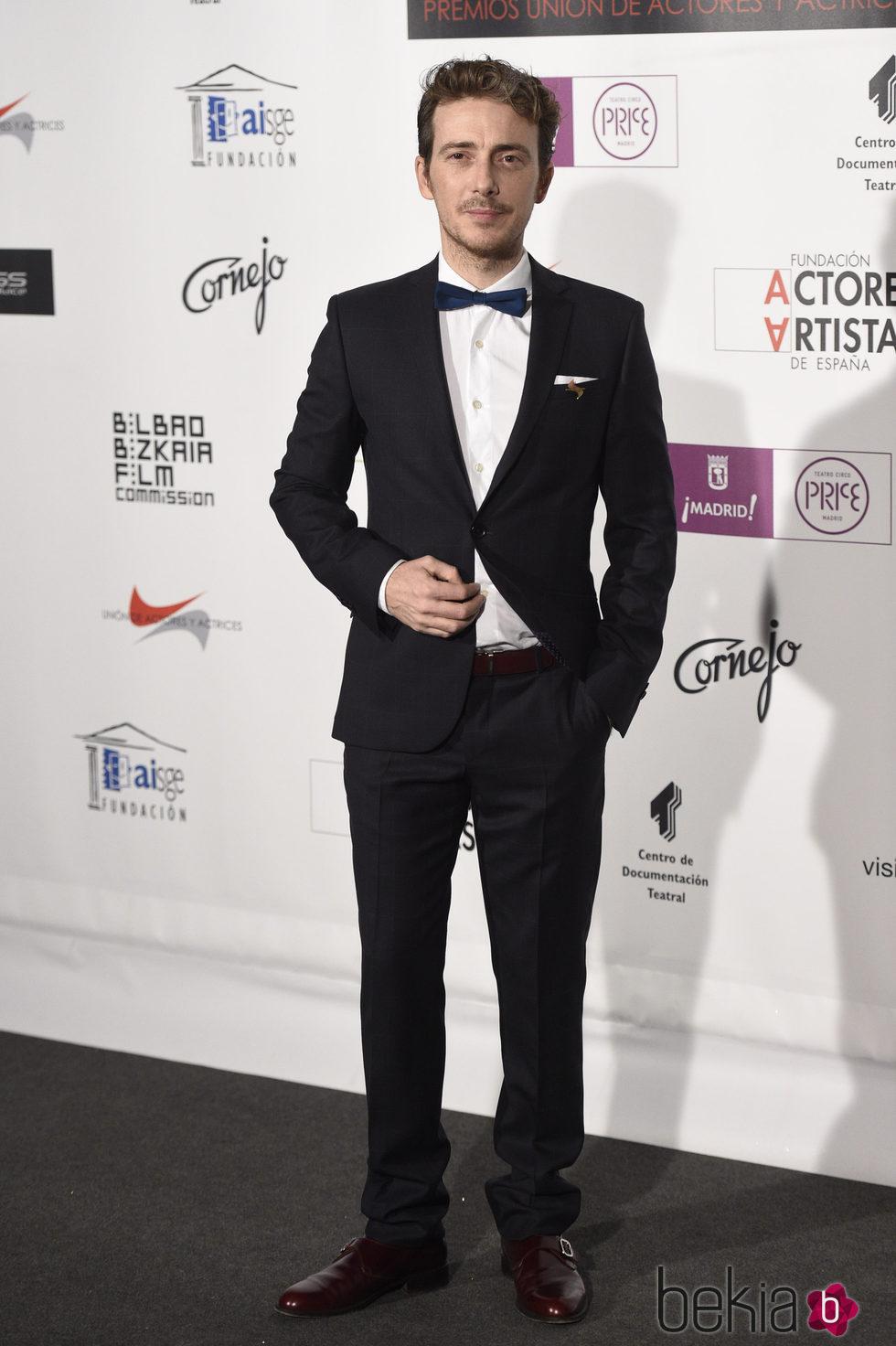 Víctor Clavijo en los Premios Unión de Actores 2016