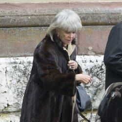 Brígida de Suecia en el funeral de Juan Jorge de Hohenzollern-Sigmaringen