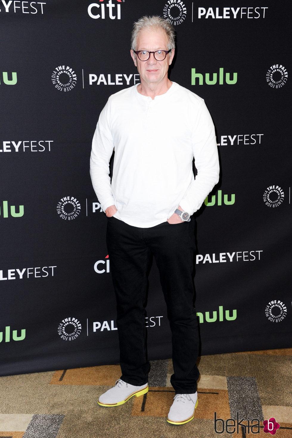 Jeff Perry en la promoción de 'Scandal' en el Paleyfest 2016