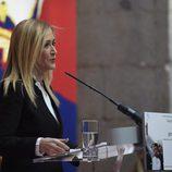 Cristina Cifuentes en la presentación del libro