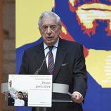 Mario Vargas Llosa en la presentación del libro