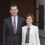 Los Reyes Felipe y Letizia en la residencia del Gobernador de Puerto Rico