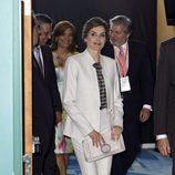 La Reina Letizia en la entrega de la Medalla de Honor a Miguel Alemán en Puerto Rico