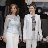 La Reina Letizia con la Primera Dama de Puerto Rico
