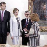 Los Reyes Felipe y Letizia en el Museo de Arte de San Juan de Puerto Rico