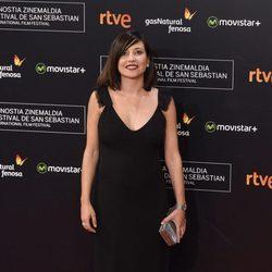 Marian Álvarez en la alfombra roja de la clausura del Festival de San Sebastián 2015