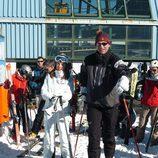 Los Reyes Felipe y Letizia esquiando en Baqueira Beret