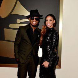 Ne-Yo y Crystal Renay en los Premios Grammy 2015