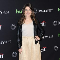 Mayim Bialik en la promoción de 'The Big Bang Theory' en el Playfest 2016