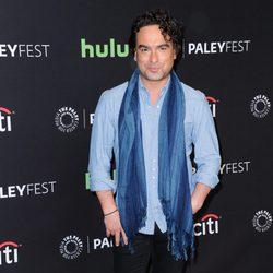 Johnny Galecki en la promoción de 'The Big Bang Theory' en el Playfest 2016