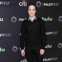 Jim Parsons en la promoción de 'The Big Bang Theory' en el Playfest 2016