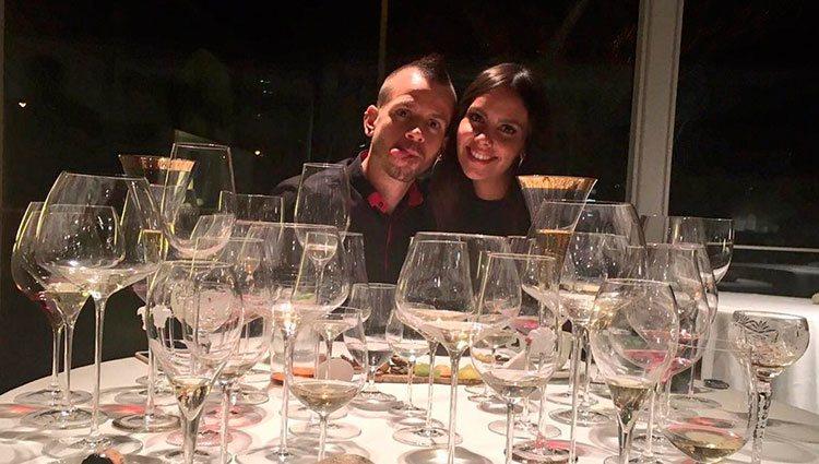 Cristina Pedroche y David Muñoz cenando en el Celler de Can Roca