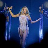 Mariah Carey en su concierto en Manchester del 'Sweet Sweet Fantasy Tour'