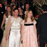 Carlota Casiraghi y la princesa Alexandra de Hannover durante el Baile de la Rosa 2016