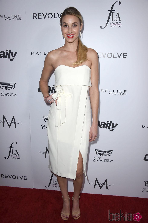 Whitney Port en los Fashion Awards 2016 en Los Ángeles