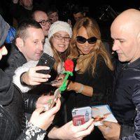 Mariah Carey, asediada por los fans en Londres
