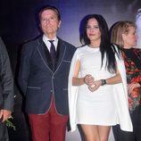 Gloria Camila y José Ortega Cano en la apertura de 'La más grande' en Chipiona