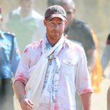 El Príncipe Harry participando en el Festival Hindú del Color de Nepal