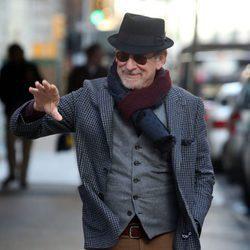 Steven Spielberg, un adorable abuelito por las calles de Nueva York