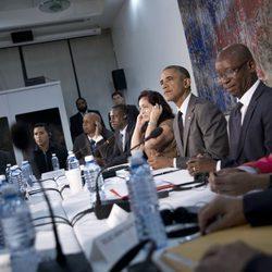 Barack Obama se reúne con los disidentes en su viaje a Cuba