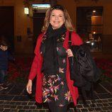 Terelu Campos en Málaga para seguir las procesiones de Semana Santa 2016
