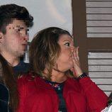Terelu Campos muy emocionada en las procesiones de Semana Santa 2016 en Málaga