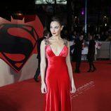 Gal Gadot en el estreno de la película 'Batman v Superman: El amanecer de la justicia' en Londres