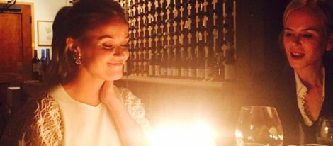 Reese Witherspoon cumple 40 años acompañada de Nicole Kidman