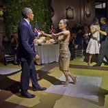 Barack Obama bailando tango en su visita oficial a Argentina