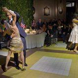 Barack y Michelle Obama bailando tango durante su visita oficial a Argentina