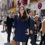 Lourdes Montes en la Semana Santa de Sevilla 2016