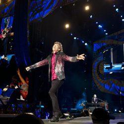 Mick Jagger, de los Rolling Stones, en su concierto en La Habana