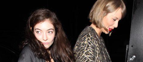 Taylor Swift acompañada de Lorde en Los Angeles