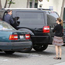 Ben Affleck y Jennifer Garner juntos en el día de Pascua