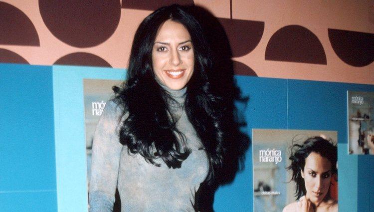 Mónica Naranjo en la presentación de su disco 'Chicas malas'