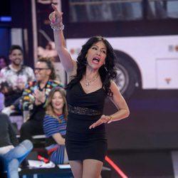 Maite Galdeano dándolo todo en el debate de 'Gran Hermano VIP 4'