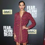 Madeleine Mantock en el estreno de 'Fear the Walking Dead' en Los Angeles