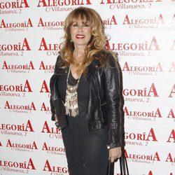 Miriam Díaz Aroca en la presentación del disco 'Recordando a El Fary'