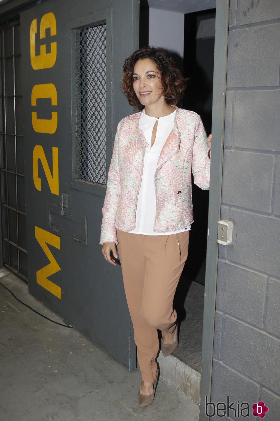 Cristina Plazas en la presentación de la segunda temporada de 'Vis a Vis'